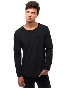 Camiseta Cotton Fleece Preta
