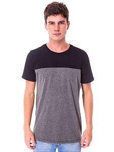 Camiseta Preta Barra Chumbo