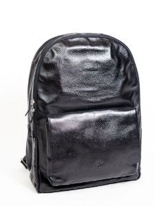 Mochila Urbô Leather Milano Black