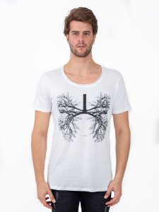 Camiseta Breath Cavada