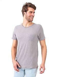 Camiseta Sustentável Pet Cinza