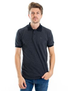 Camisa Polo Cotton Concrete Black