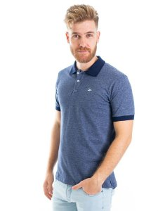 Camisa Polo Concrete Blue