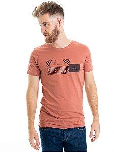 Camiseta Keep On Rosa