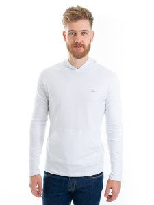 Camiseta Cotton Capuz Branco