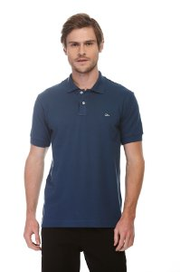 Camisa Polo Piquet Conforto New Blue
