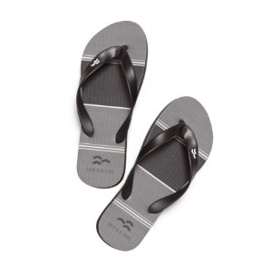 Chinelo Black And Gray