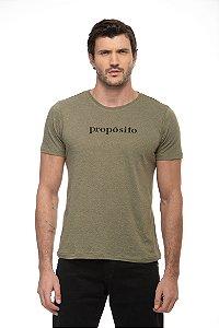 Camiseta Propósito Verde