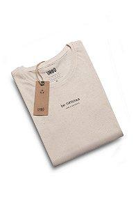 Camiseta Be Conscious Natural