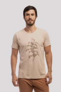 Camiseta Flor de Café Natural