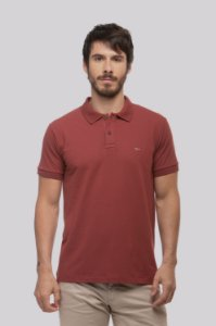 Camisa Polo Strong Bordô
