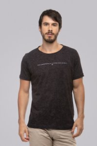 Camiseta Thin Line Black
