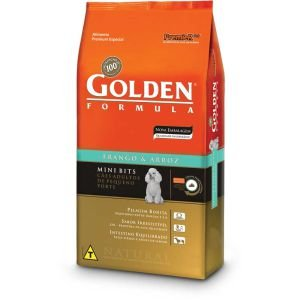 GOLDEN FRANGO CÃO ADULTO MINIBITS 15KG