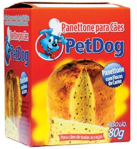 PANETTONE CARNE 80G - PET DOG