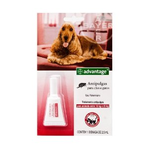ADVANTAGE CAES E GATOS - 2,5ML