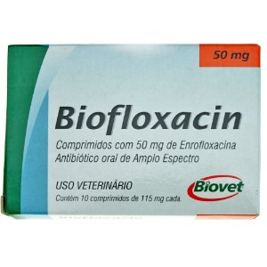 BIOFLOXACIN 50MG C/10 COMP