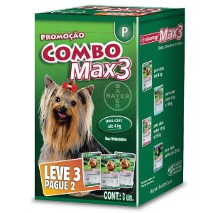 ADVANTAGE COMBO MAX- 3 - 0.4ML (P)