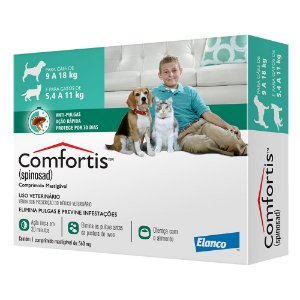 COMFORTIS 9 A 18 KG 560 MG