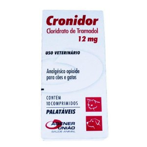 CRONIDOR 12MG COM 10