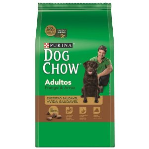 DOG CHOW Adultos Frango e Arroz 15KG