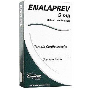 ENALAPREV 5 MG 20 COMP