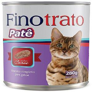 FINOTRATO PATE GATOS SABOR CARNE 280GR