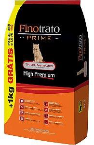 FINOTRATO PRIME GATOS CASTRADOS 03 + 01 KG