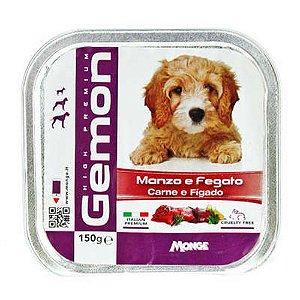 GEMON DOG CARNE E FIGADO 150G