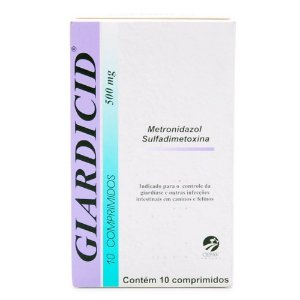 GIARDICID 500MG 10COMP