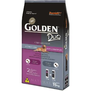 GOLDEN DUO SALMÃO CORDEIRO ADULTO 15 KG