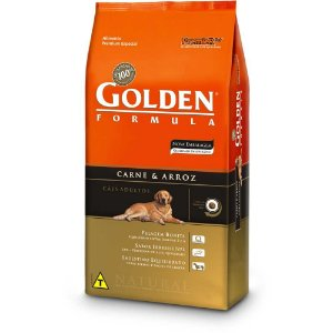 GOLDEN CÃO ADULTO CARNE MINI BITS 15KG