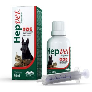 HEPVET SUSPENSAO 60ML