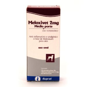 MELOXIVET 2 MG CARTELA