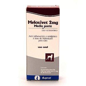 MELOXIVET 2 MG CARTELA
