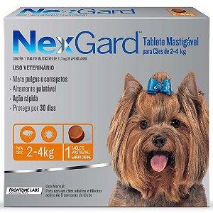 NEXGARD 2.4KG - P 0,5G