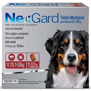 NEXGARD 25 / 50kg c/3 - GG 6G X3