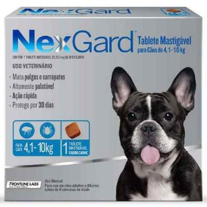 NEXGARD 4.1-10KG 3g  - M 1,25G