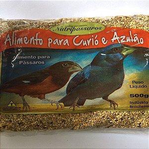 NUTRIPASSAROS CURIO E AZULÃO 500G