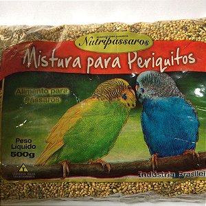 NUTRIPASSAROS MISTURA PERIQUITO 500GR