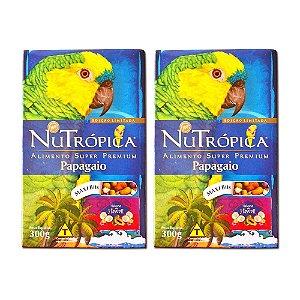 NUTROPICA PAPAGAIO C/FRUTA SABOR HAWAI 300G
