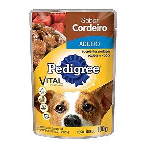 PEDIGREE SACHE  ADULTO CORDEIRO 100g