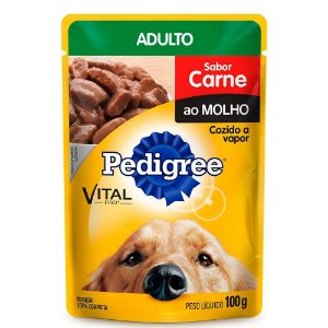 PEDIGREE SACHE ADULTO CARNE 100G