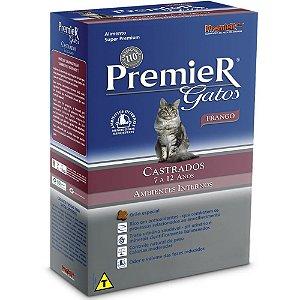 PREMIER GATO CASTRADO 7 - 12 ANOS - 500G