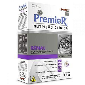 Premier Nutrição Clínica para Gatos Renal 1,5KG