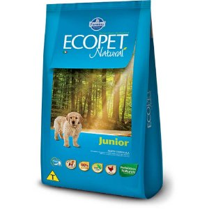 ECOPET NATURAL JUNIOR 15KG
