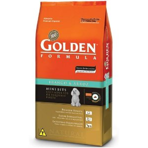 GOLDEN FRANGO CÃO ADULTO MINIBITS 3KG