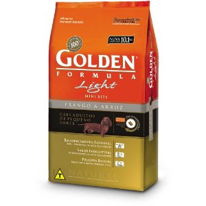 GOLDEN LIGHT  CÃO MINIBITS 3KG
