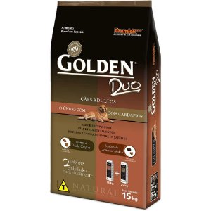 GOLDEN  DUO ADULTO FRAGO CARNE 15 KG