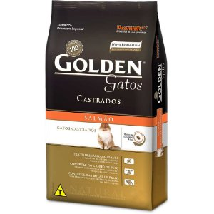 GOLDEN GATO SALMAO  ADULTO CASTRADO 10 KG
