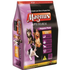 RAÇÃO MAGNUS SUPER PREMIUM PEQ PORTE 15KG